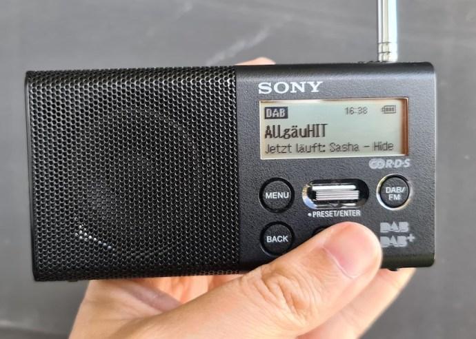 AllgäuHIT-Empfang im Kanal 8B (Foto: SmartPhoneFan.de)