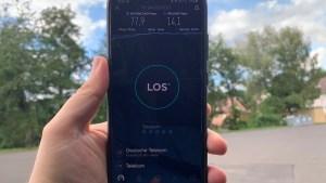 Netztest mit Samsung Galaxy S20 Ultra (Foto: SmartPhoneFan.de)