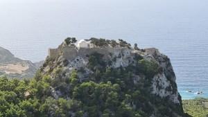 Blick auf die Festung Monolithos (Foto: SmartPhoneFan.de)
