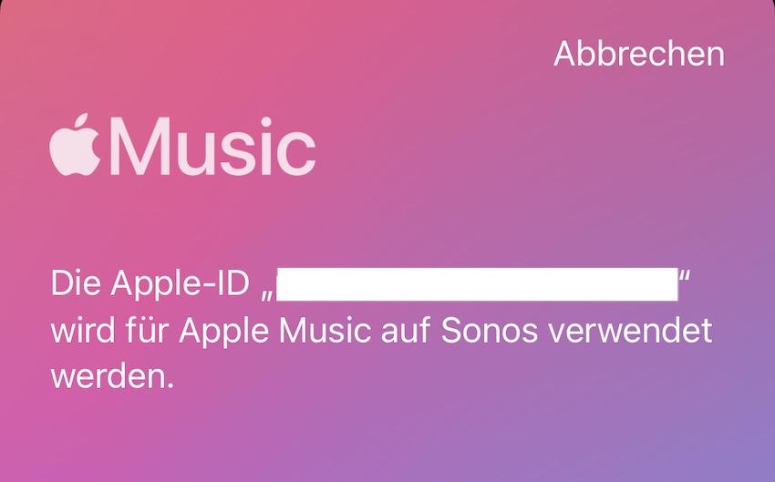 Apple Music auf Sonos (Foto: SmartPhoneFan.de)
