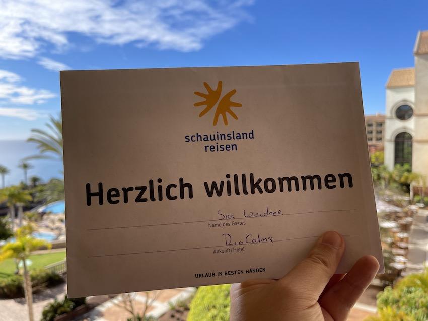 Post von Schauinsland Reisen (Foto: SmartPhoneFan.de)