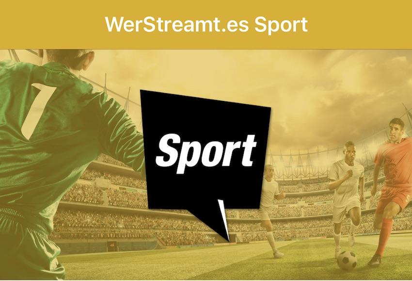 WerStreamt.es für Sport (Screenshot: SmartPhoneFan.de)