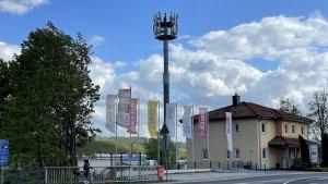 Vodafone-5G-Standort in Wächtersbach (Foto: teltarif.de)