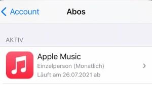 Apple Music nur bis Ende Juli kostenlos (Foto: SmartPhoneFan.de)