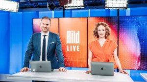 BILD TV vor dem Start (Foto: BILD)