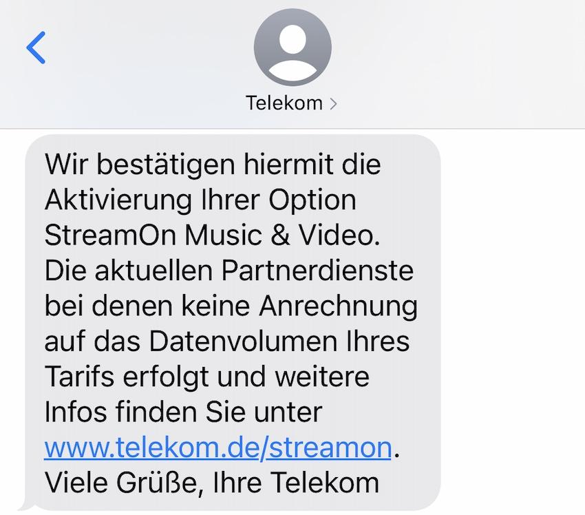 StreamOn wieder gebucht (Foto: SmartPhoneFan.de)