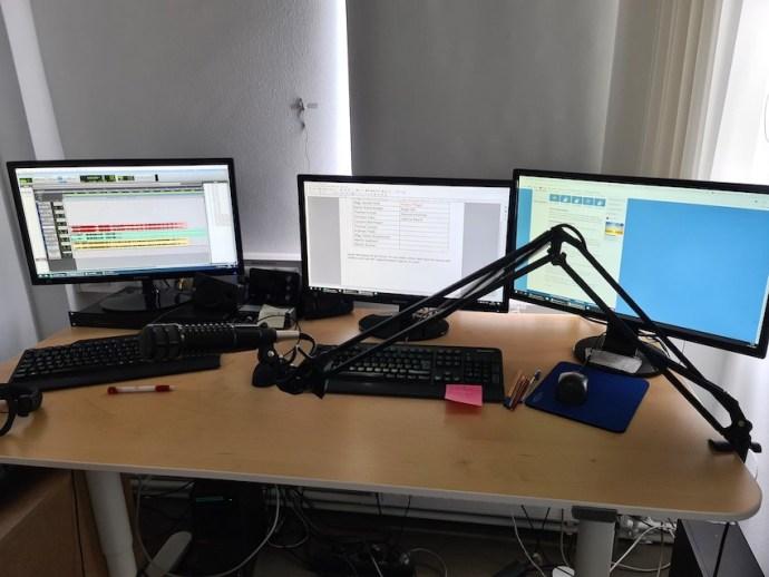 Zweites Studio für Vorproduktionen (Foto: SmartPhoneFan.de)