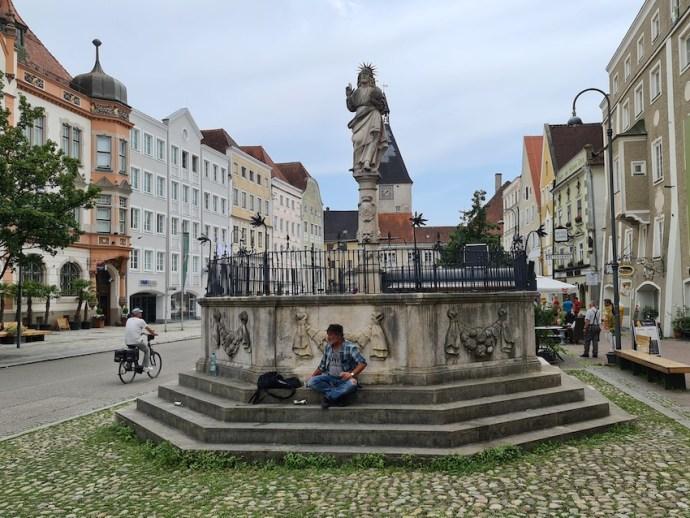 In der Innenstadt von Braunau (Foto: SmartPhoneFan.de)