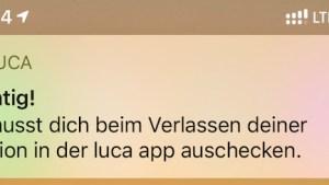 Check-Out mit Luca App nur noch manuell (Foto: SmartPhoneFan.de)