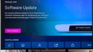 Update für den Media Receiver 401 (Foto: SmartPhoneFan.de)