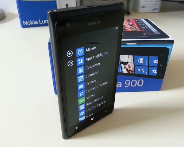 Lumia 900 recenzija