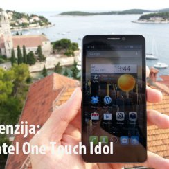 Alcatel One Touch Idol dual SIM test mobitela