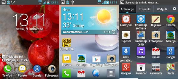 LG OPtimus L3 2 test