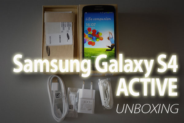 Galaxy S4 Active unboxing