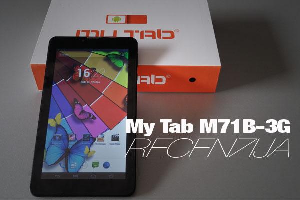 My Tab M71B-3G recenzija