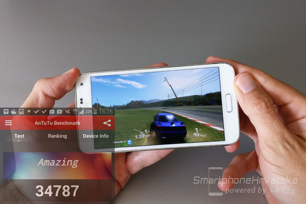 galaxy s5 recenzija performanse