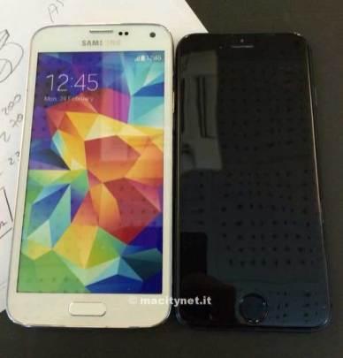 iPhone 6 Galaxy S5 usporeedba (2)