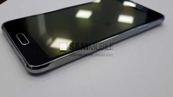 Samsung Galaxy Alpha na prvim živim fotkama
