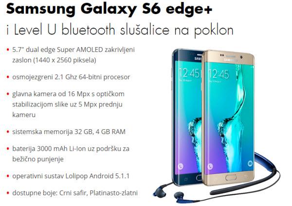 galaxy s6 edge+ u vipnetu