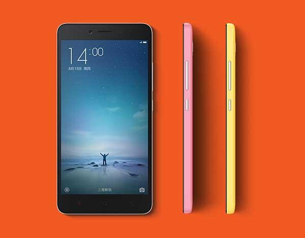 Xiaomi Redmi Note 2 boje