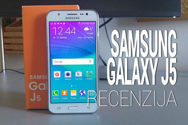 Recenzija: Samsung Galaxy J5