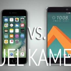 iPhone 7 vs. HTC 10 - dvoboj kamera