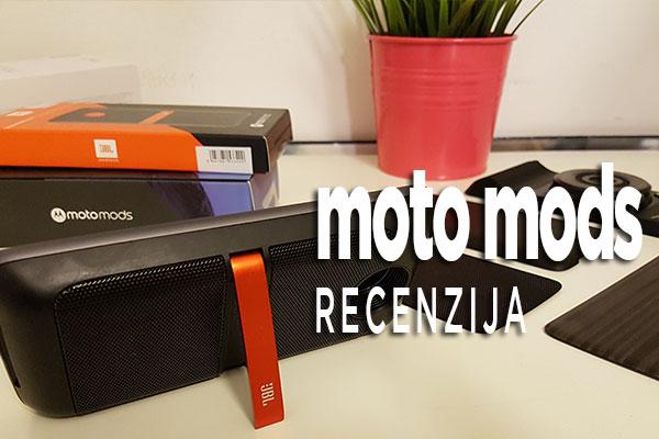 Recenzija: Moto Mods