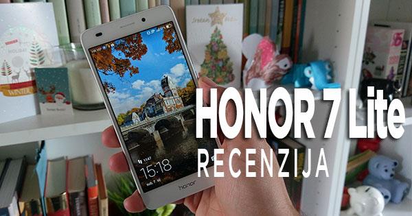 Recenzija: Honor 7 Lite