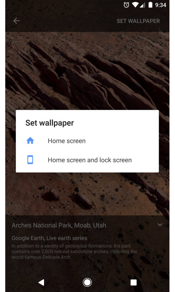 Nougat 7.1.2 Live wallpapers
