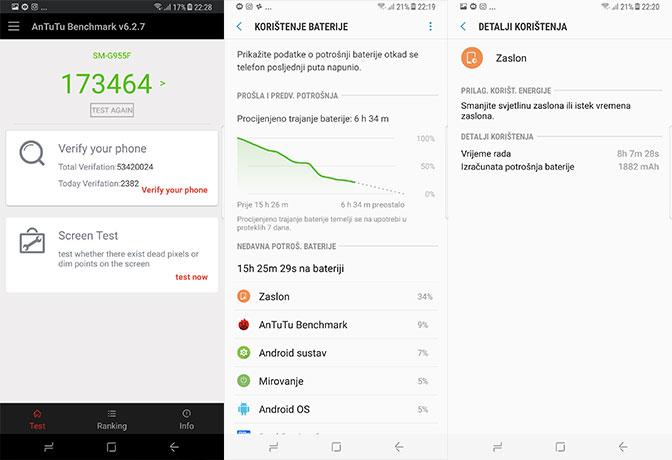 Galaxy s8+ recenzija