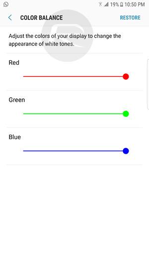 Galaxy S8 podešavanje zaslona