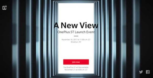OnePlus 5T stiže 16. studenog - službeno predstavljanje u New Yorku