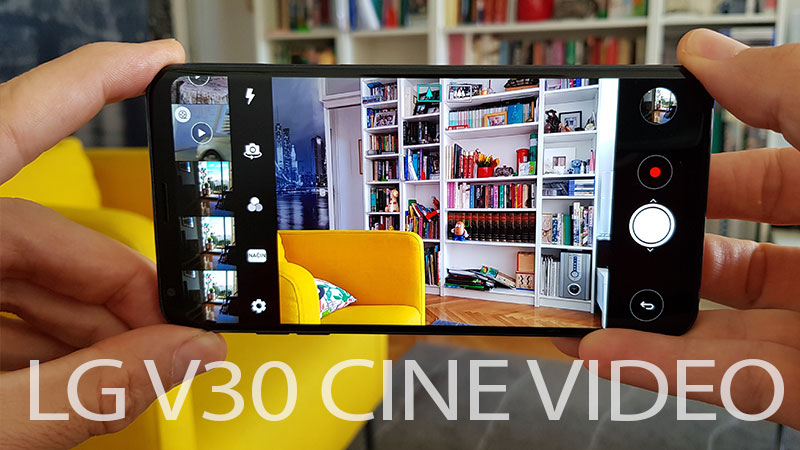 LG V30 Cine Video čarolije