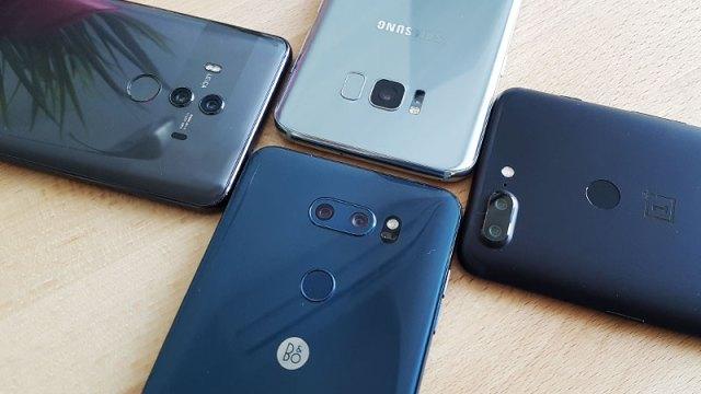 Mate 10 Pro vs. LG V30 vs. OnePlus 5T vs. Galaxy S8+ - Mega usporedni test kamera!