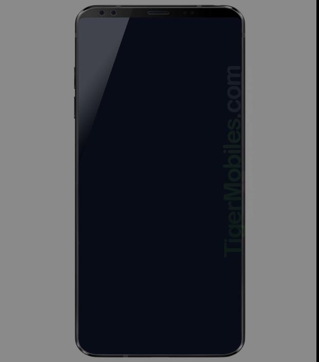 LG G7 - render otkriva super tanki okvir nove perjanice?
