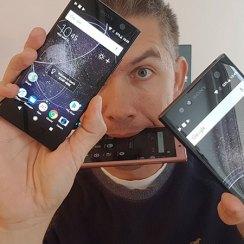 Trostruki Unboxing: Sony Xperia XA2 Ultra, Xperia XA2 i Xperia L2