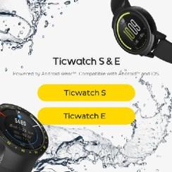 Skupi kupone za dva Ticwatch smartwatcha na Android Wear platformi