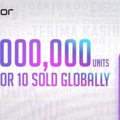 U manje od 2 mjeseca prodano više od 3 milijuna Honora 10