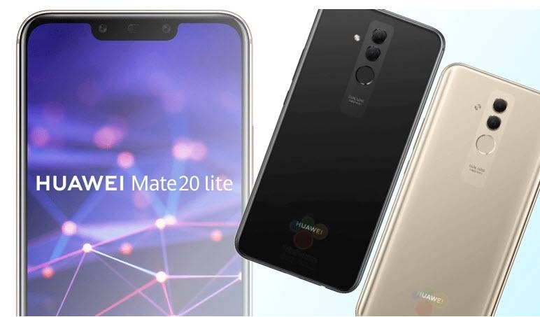 Huawei Mate 20 Lite na službenim renderima
