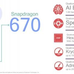 Qualcomm predstavio Snapdragon 670, donosi 25% bolje performanse, 30% štedljiviji rad i AI engine