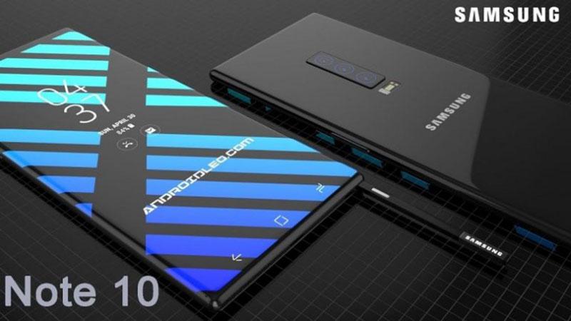 Galaxy Note 10 navodno stiže ranije s 6.6'' 4K zaslonom i 5G mrežom