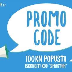 Uštedi stotku u smartus.hr webshopu uz ovaj promo kupon!