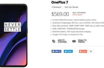 OnePLus 7 Giztop specifikacije