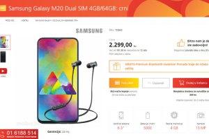 Obavijest svim Samsung fanovima! Samsung Galaxy M20 stigao je u mobis.hr ponudu