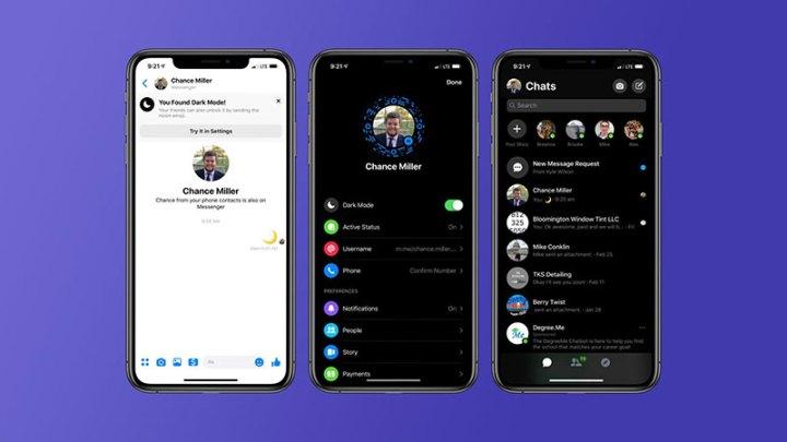 Cool trik za uključivanje Dark Mode na Facebook Messengeru