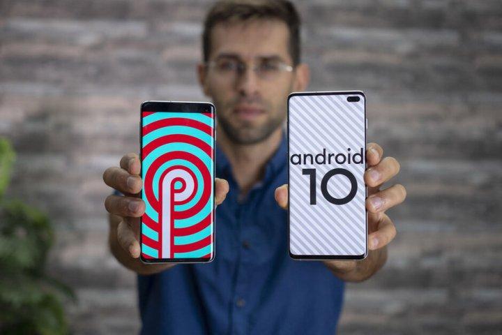 Android 10 za Galaxy S10+