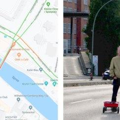 Genijalno: lik po Berlinu vukao 99 mobitela i kreirao virtualne zastoje na Google Kartama