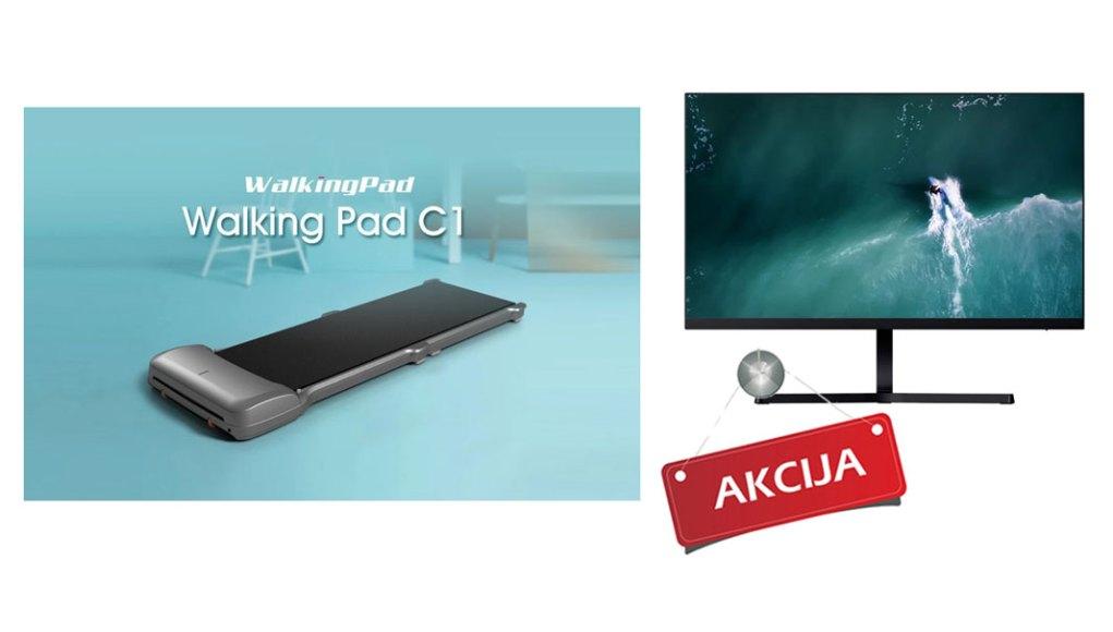 Akcija-tomtop-redmi-1a-monitor--Youpin-WalkingPad-C1