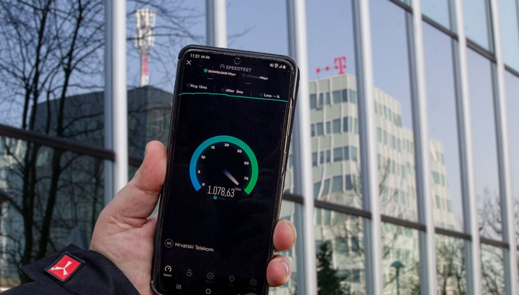 Hrvatski Telekom započeo testiranja 5G mreže na 3,5 GHz frekvencijskom pojasu