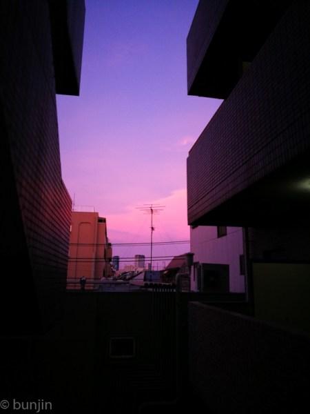 Pinky sky